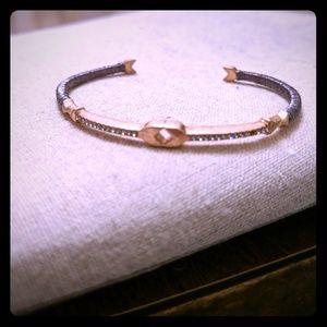 Stella & Dot rose gold cuff